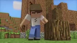 Счастливая жизнь в Minecraft Анимация