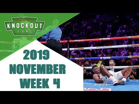 Boxing Knockouts | November 2019 Week 4