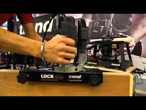 Tibby Singh Demonstrates The Trend Lock Jig - D&M Show 2015