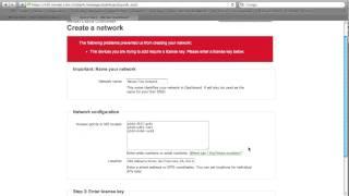 Meraki Dashboard & Network Setup