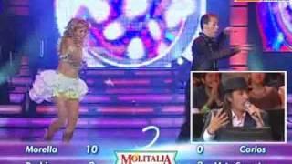 Baile Mix: Anna Carina y Carlos Suárez (El Show de los Sueños PERU 07-11-2009)