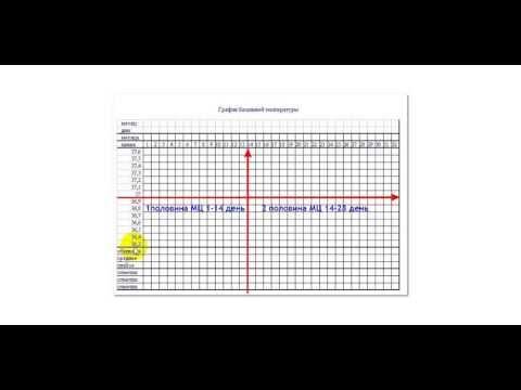 Ректальная температура, в норме и при беременности\графики\.