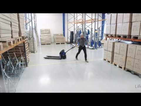 El-palleløfter 1200 kg - Lithium