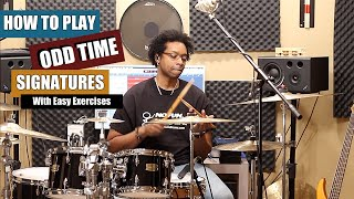 HOW To PLAY ODD TIME SIGNATURES W Easy Exercises