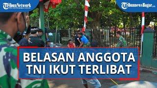 Proses Pemotongan Sapi di Makodim 0606/Kota Bogor, Belasan Anggota TNI Ikut Terlibat