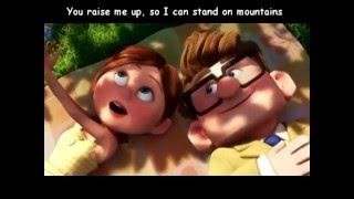 Westlife You Raise Me Up Lyrics ( UP MOVIE )