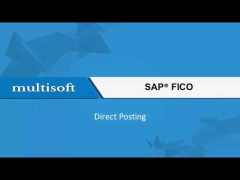 Direct Posting in SAP FICO Training