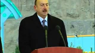 preview picture of video 'İlham Əliyevin Füzuli Su Elektrik Stansiyasının açılışında nitqi'