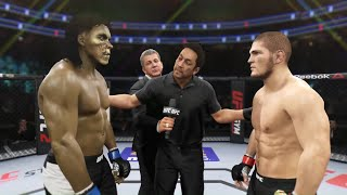 Khabib vs. Decayed Zombie - EA Sports UFC 2 ☝️🦅