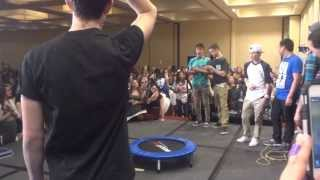 On Stage With The Magcon Boys & A Trampoline (Magcon Day 2 In San Francisco)
