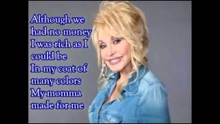 Coat of many colors- Dolly Parton with lyrics