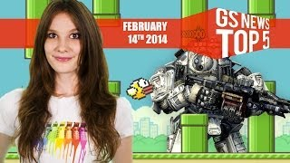 GS News Top 5 - Titanfall Won't Run at 1080p + Flappy Bird Summarized!