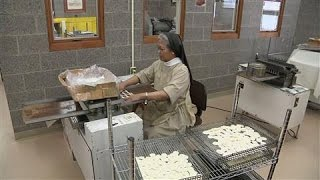 Nuns Bake Thousands of Communion Hosts for Pope Francis