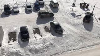 Соседи не поделили парковку