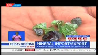 Mining sector stakeholders warned against illegal import and export of minerals