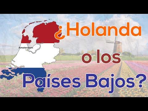 ¿Cuál es la diferencia entre Holanda y los Países Bajos?