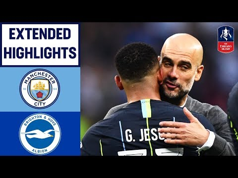 Jesus Heads City Into the Final!   Manchester City 1-0 Brighton & Hove Albion   Emirates Cup 18/19
