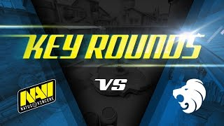 Key rounds: Na`Vi vs North on Inferno @ SL i-League StarSeries S3 (ENG SUBS)