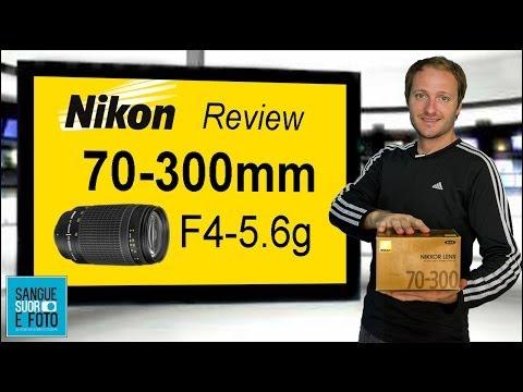Review Lente Nikon 70-300mm Af Zoom F4-5.6g em Portugues