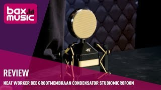 NEAT Worker Bee grootmembraan condensator studiomicrofoon - Review