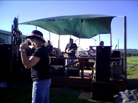 The Dixie Wrecked band live at The Never Dry Ranch