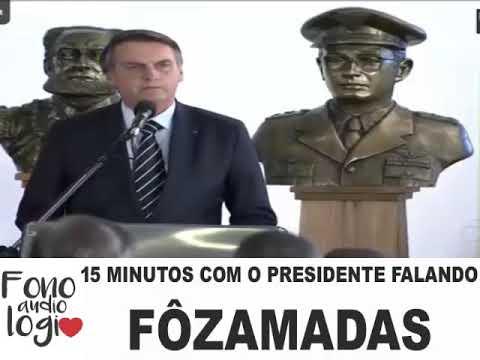 O presidente e a FONOAUDIÓLOGA