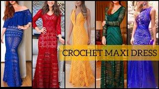 Crochet Dress Patterns/Crochet Maxi Dress/Crochet Winter Dress 2019/20