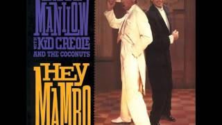BARRY MANILOW WITH KID CREOLE AND THE COCONUTS - HEY MAMBO - VINYL