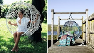 Outdoor Hanging Chair | Diy Hanging Egg Chair Ideas | Chairs Design