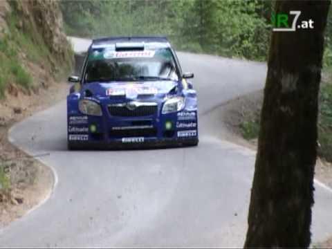 Skoda Fabia S2000 Rally Car in Action
