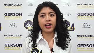 Verónica Sandoval, Candidata Asambleísta Nacional del Ecuador 2021.