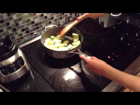 Video My Chinese Recipes Sauteed Zucchini! Easy and Healthy!
