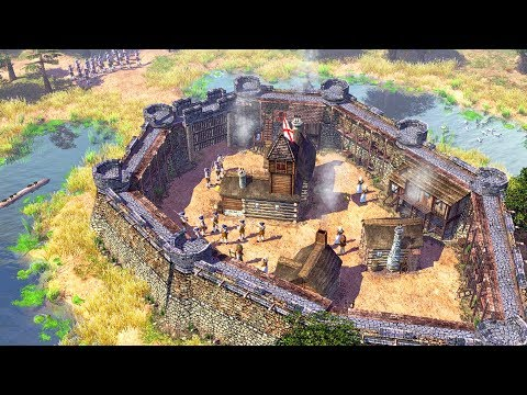 Military Fortress Siege in the Americas | Age of Empires III Gameplay