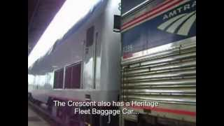 Video about Traveling on Amtrak's Crescent