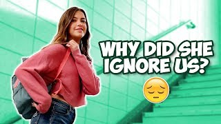 Why did she IGNORE us at her SCHOOL? | The Mikesell Family