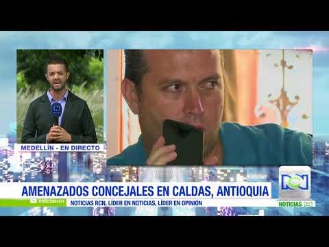 Concejales del municipio Caldas en Antioquia denuncian amenazas contra su vida