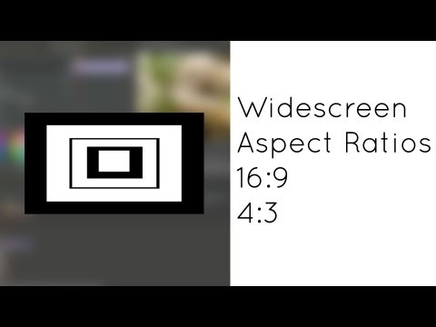 Tamaño y Proporciones de Video: Widescreen, 16:9, 4:3, y Aspect Ratios
