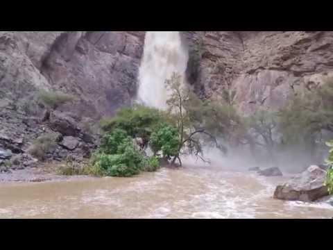 شلال وادي بني خروص ،، لقطة رائعة جدا .