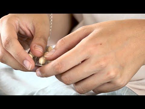 Traitement de don d'ovules. Démarrage de progestérone