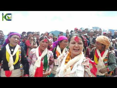 New danger deuda Kamala Dhamai 🆚 Manlal Jaisi कमला धामी र मनलाल बिचको देउडा हुम्लाको बराइमा भएको