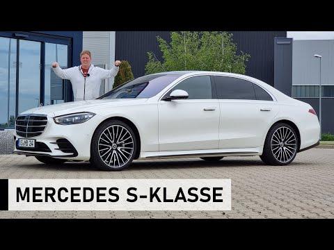 Die NEUE 2021 Mercedes-Benz S-Klasse - Review, Fahrbericht, Test