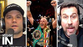 Tyson Fury beats Deontay Wilder via TKO! | WEIGHING IN