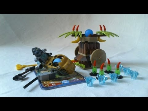Vidéo LEGO Chima 70136 : Le punching banane