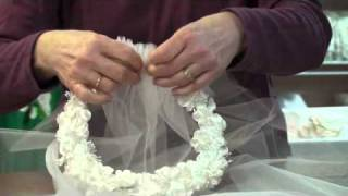 Rosas first communion most popular videos project first communion veil floral ring fandeluxe Gallery