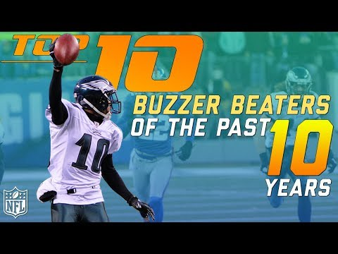 Top 10 Buzzer Beaters from the Past 10 Years   NFL Highlights