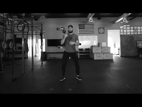 Steel Mace Switch Squat