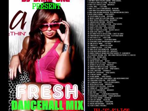 DJ DANE ONE FRESH DANCEHALL MIX VOL 6 ((NOVEMBER 22 2014))