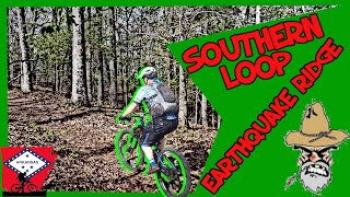 Southern Loop when added with the down hill portion of Earthquake Ridge Loop makes for a very fast 2 mile down hill ride.