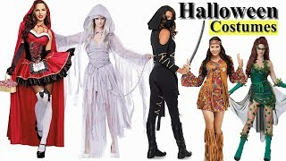 Halloween Costumes Collection For Women