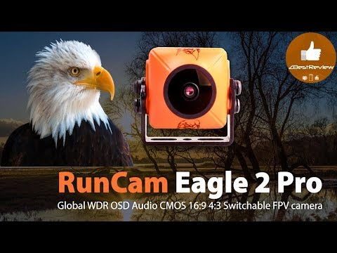 ✔ Топовая FPV Камера RunCam Eagle 2 Pro - Global WDR OSD Audio 800TVL! Banggood.com!